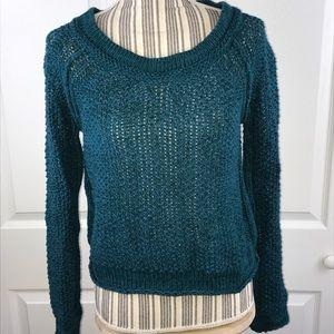 [Free People] Open Knit Sweater